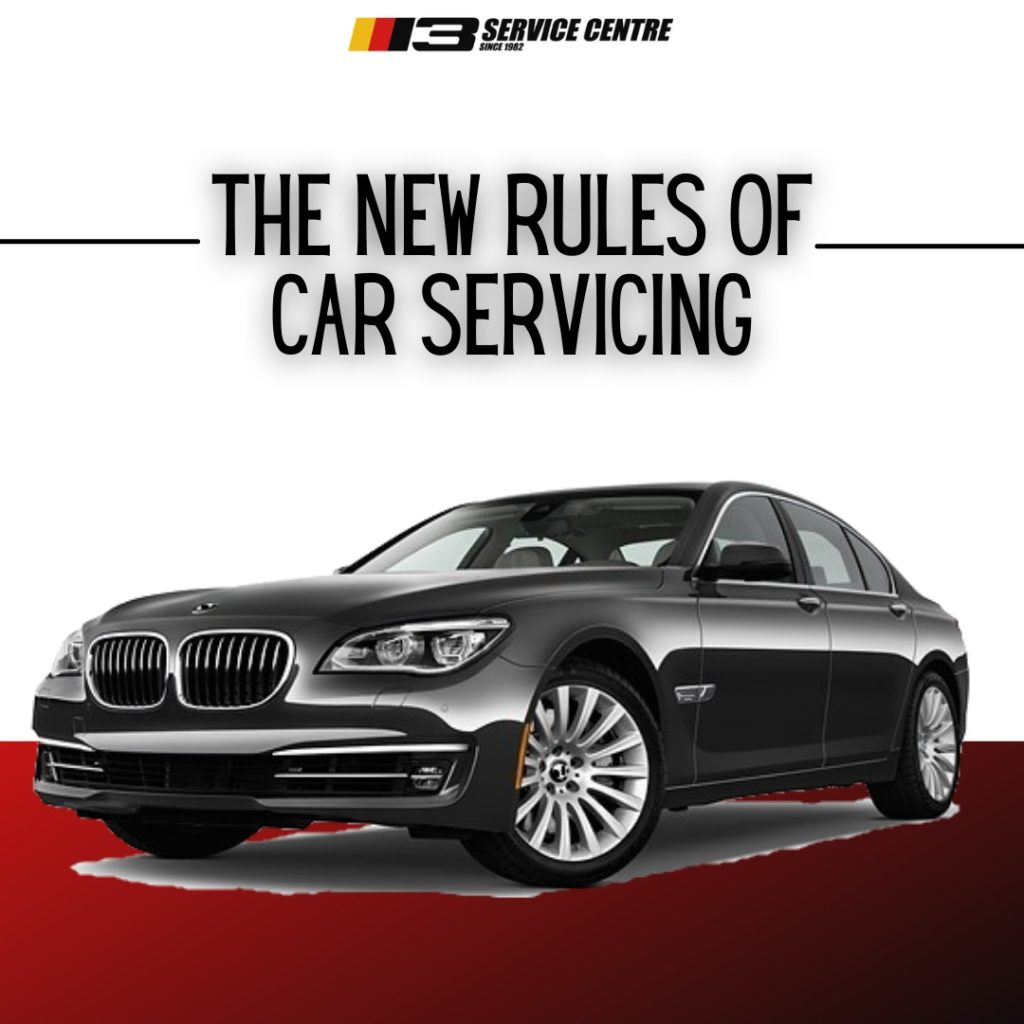 The new rules of car servicing